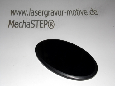 Fotomarmor Ovalform 216x280x7 mm absolut Black.